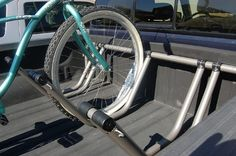 Amazon.com : Truck Bed Bike Rack - Holds 3 Bikes : Bike Panniers And Rack Trunks : Sports & Outdoors