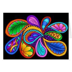 More Fuel Digital Art by Debi Payne - drawings Art Pop, Mandala Art, Whimsical Painted Furniture, Painted Rocks, Hand Painted, Wal Art, Paisley Art, Art Africain, Rock Art