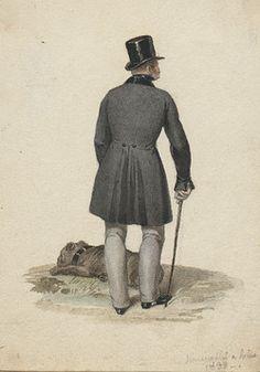 mężczyzna z psem