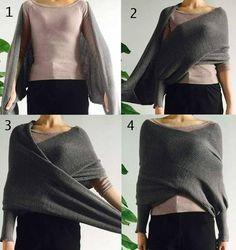All-match Women Trendy Street Casual Off Shoulder Crop Wrap Sweater - Lupsona