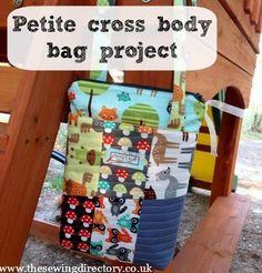 Small cross body messenger bag