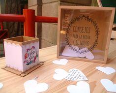 cuadro + corazones libro de firmas urna 15 años casamiento