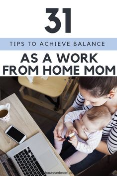 I am going to be sharing 31 Tips To Achieve Work Life Balance for work at home moms during October, if you want to stay up to date with the posts, please join the mailing list. Gentle Parenting, Parenting Hacks, Baby Calm, Work Life Balance, Work From Home Moms, Working Moms, Raising Kids, New Moms, October