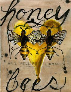 Bees:  #Honey #Bees.