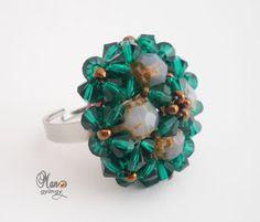 'Mano' diseñador de joyas de perlas de joyería artesanal: Anillos Pelleas