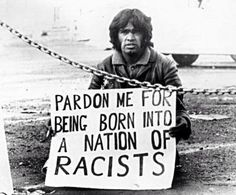 Gary Foley. Aboriginal Rights Activist & Academic. 1971 during South Africa's Springbok Tour to Australia during the Apartheid period.