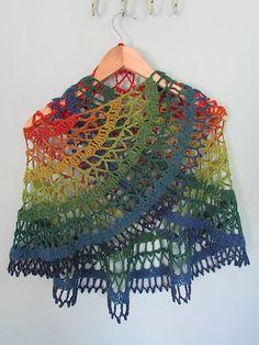 Ravelry: Glaramara Crochet Shawl pattern by Claire Maloney
