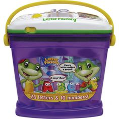 LeapFrog Letter Factory Phonics & Numbers $21.97