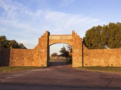 Cattle baron Waggoner's name remains at many locations in the ranch - the largest contiguous ranch in the United States spanning six counties in Northern Texas
