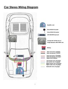 Sony Radio Wiring Diagram Excellent Shape For Xplod Car