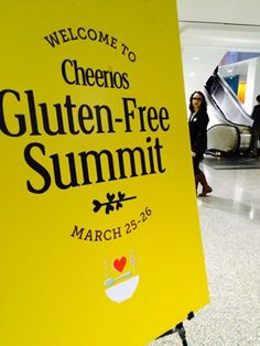 Welcome to Cheerios Gluten-Free Summit - a summary from NFCA about the new #glutenfree cheerios!
