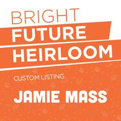 Custom Listing for Jamie Mass - Cut Vinyl Decals - Perfect for laptops tablets cars trucks and more! by BrightFutureHeirloom