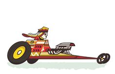 thesillyrally:  Racer:Queen Pip Vehicle:The Straight Away