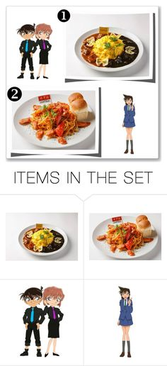 """""""Detective Conan Cafe 2015"""" by smile2528 ❤ liked on Polyvore featuring art"""