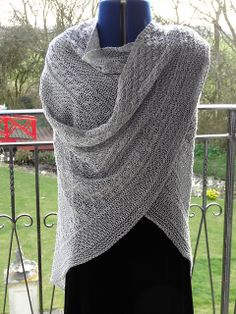 Ravelry: cookknitwine's Sigrdrífa, from Suseknits pattern Lichen and Moss, crafted in silk.
