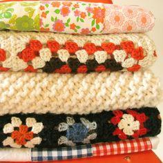 Baby blankets...  Frazaditas para el Bebé...