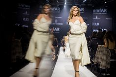 Scenes From the AmfAR Cannes Runway Show