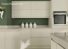 Matt Kitchen Ivory Kitchen Slab, Ivory Kitchen, Big Kitchen, Kitchen On A Budget, Kitchen Cupboards, Kitchen Design, Kitchen Ideas, Kitchen Inspiration, Kitchen Gallery