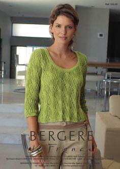 Bergere de France - 103.69 - Three-Quarter Sleeves & Scoop Neck https://www.patternfish.com/patterns/15354-bergere-de-france-103-69-three-quarter-sleeves-scoop-neck