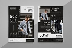 Buy Man Made - Fashion Flyer by Fandesain on GraphicRiver. Man Made – Fashion Flyer template is help you to promote your any project purpose with professional design. Graphic Design Flyer, Graphic Design Templates, Print Templates, Web Design, Flyer Design Inspiration, Instagram Design, Instagram Layouts, Marketing Flyers, Aesthetic Template