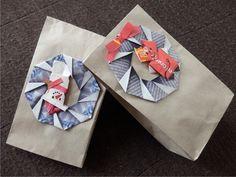 dárkové sáčky - ozdoba z čajových obálek Gift Wrapping, Gifts, Packaging, Gift Wrapping Paper, Presents, Wrapping Gifts, Favors, Gift Packaging, Gift