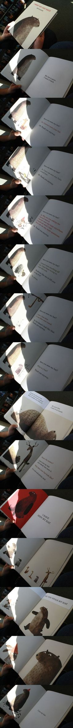 I want my hat back - Imgur I want this book for Levi.