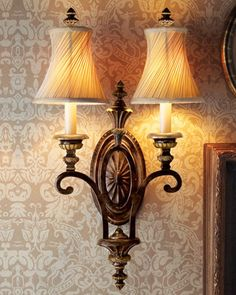 Edwardian Wall Sconce - traditional - wall sconces - Horchow