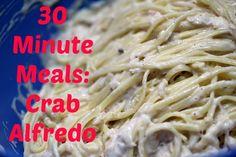Crab Alfredo Recipe http://cookinginbliss.com/how-to-go-crabbing-crab-alfredo-recipe/ #pasta #recipes