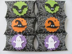 Halloween Pillow BoxesSet of 6 Halloween by SassyScrapsCrafts