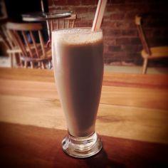Pedal & Prosa Café - Milkshake de chocolate