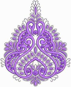 Saree Embroidery Design, Border Embroidery Designs, Embroidery Hoop Art, Embroidery Patterns, Machine Embroidery, Outline Pictures, Pencil Design, Button Crafts, Textile Patterns
