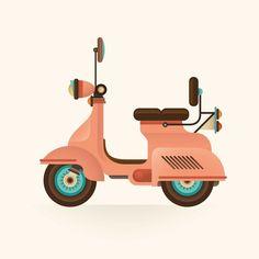 Transportation on Behance