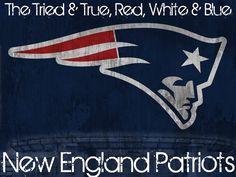 The Tried & True, Red, White & Blue... #Patriots