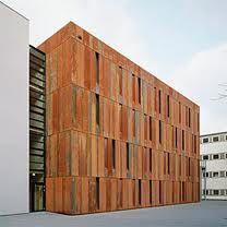 corten steel on pinterest facades steel and cultural center. Black Bedroom Furniture Sets. Home Design Ideas