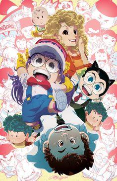 My all-time favourite anime/manga: Dr. Slump!