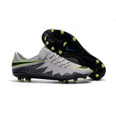 pas cher Chaussure de football Nike Hypervenom Phinish Neymar pour Homme FG Gris Noir Vert, Acheter Chaussures de football pour Homme, Haute qualité, prix bas, achetez maintenant, livraison rapide et gratuite!