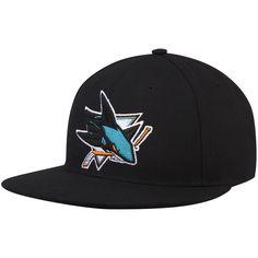 huge sale 338db 2d70f San Jose Sharks adidas Basic Fitted Hat - Black
