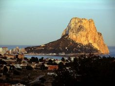 One of my favorite places to visit in Spain--I have such great memories sitting on top of this rock and looking out into the Mediterranean...  (Penon de Ifach near Calpe)