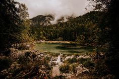 Melissa & Shane travelled to Germany for this intimate lakeside elopement in the Bavarian Alps on the banks of the beautiful Lake Eibsee. Alpine Lake, Germany Travel, Alps, Wander, Wedding Venues, Dream Wedding, Country Roads, River, Mountains