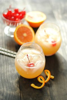 Of the three delicious summertime drink recipes I've posted this week, this Orange Swizzle is my favorite. Partly because I've never thought to pair ginger ale and orange together, and it turns out that they're an awesome combo. And partly just because I love how this one looks. It's very, very simple, but it still …