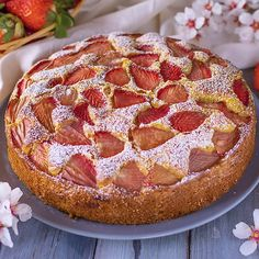 "1 Likes, 0 Comments - Edwin Kosgei ( on Bebuzee: """" Easy Lunches For Work, Sweet Recipes, Snack Recipes, Mascarpone Recipes, Strawberry Topping, Torte Cake, Pan Dulce, Quick Snacks, Pain"