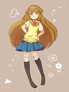 Nanobana Kinako - Inazuma Eleven GO - Image - Zerochan Anime Image Board Manga Anime Girl, Anime Art, Galaxy Movie, Anime Best Friends, Forest Girl, Inazuma Eleven Go, Manga Comics, Character Design Inspiration, Powerpuff Girls