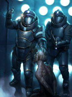 As ilustrações de fantasia e ficção científica de Darren Tan