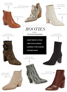 How to Wear Ankle Boots & Booties - Everything You Need to Know Talking about how to wear ankle boots and giving you oodles of outfit inspiration from wearing ankle booties with leggings to cuffed jeans and more! Ankle Booties Outfit, Ankle Boots With Leggings, Best Ankle Boots, Leopard Ankle Boots, Pointed Ankle Boots, White Ankle Boots, How To Wear Ankle Boots, Low Heel Ankle Boots, Ankle Strap Sandals