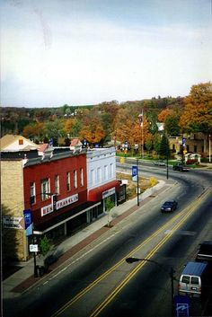 City of Newaygo, MI (From Building Roof)