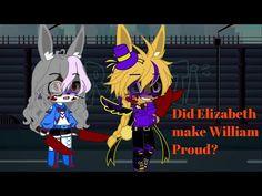 Did Elizabeth make William proud??|Fnaf | short skit| - YouTube Best Songs, Fnaf, Youtube, Fictional Characters, Fantasy Characters, Youtubers, Youtube Movies