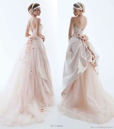 adrian and jana: Wedding Trends: Coloured Wedding Dresses