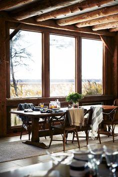 A beautiful fall table setting, from Lexington Company!