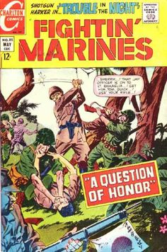 Charlton Comics - Approved By The Comics Code - Tree - Soldier - Sword