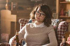 Milana Vayntrub photos, including production stills, premiere photos and other event photos, publicity photos, behind-the-scenes, and more.